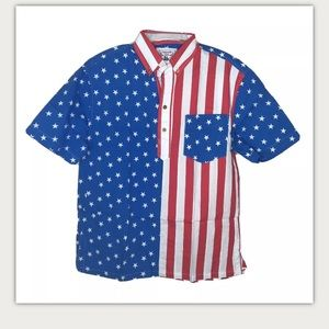 Chubbies The Nutter Head Of State July Shirt M